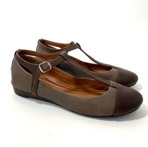 Lucky Brand Ferne T-Strap Mary Jane Ballet Flats